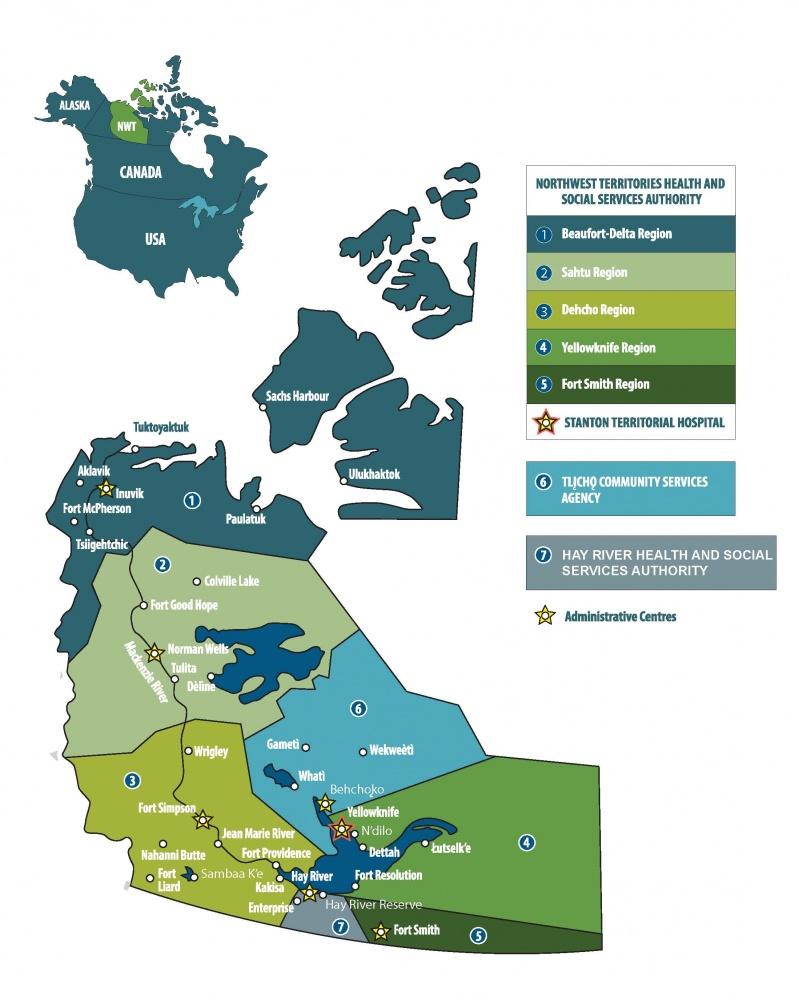 NTHSSA Map